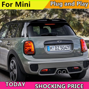 Image 3 - 자동차 스타일링 LED 테일 램프 BMW F55 F56 F57 테일 라이트 2013 now 미니 리어 라이트 DRL + 턴 시그널 + 브레이크 + 리버스 LED 라이트