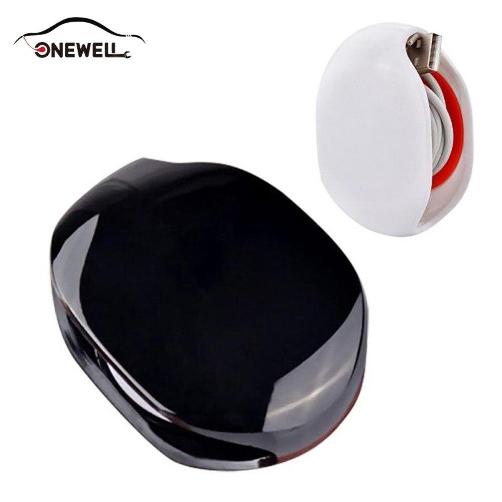 купить ONEWELL Auto Cable Cord Wire Organizer Bobbin Winder Smart Wrap New Stylish Best Price Headphone Earphone по цене 102.8 рублей