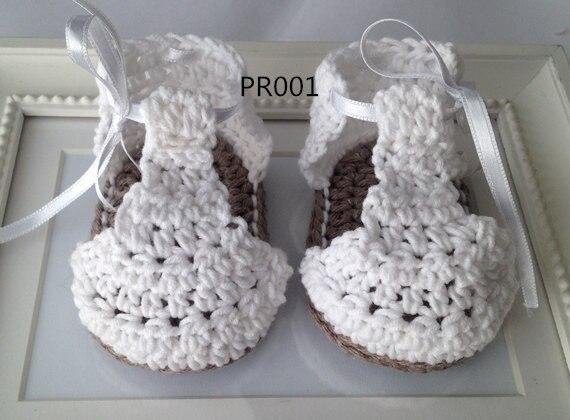 Mooie Baby Haak Sandalen Perfect Als Cadeau Voor Pasgeboren Baby