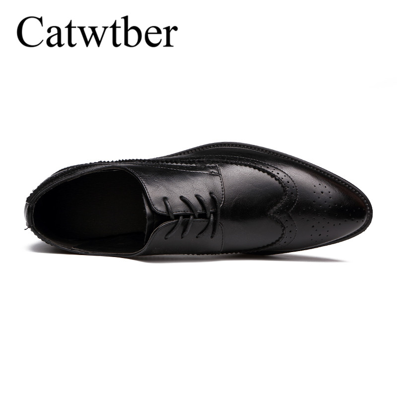 Printemps Catwtber Pu En Black Automne Pour Classique Costume Robe Hommes Sociale Cuir Blanc Sur Pointu Chaussures Homme Slip Noir Bout F1wnaFxZr