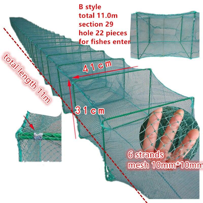 Rede de Pesca de Emalhar de Emalhar H15m/10 m *