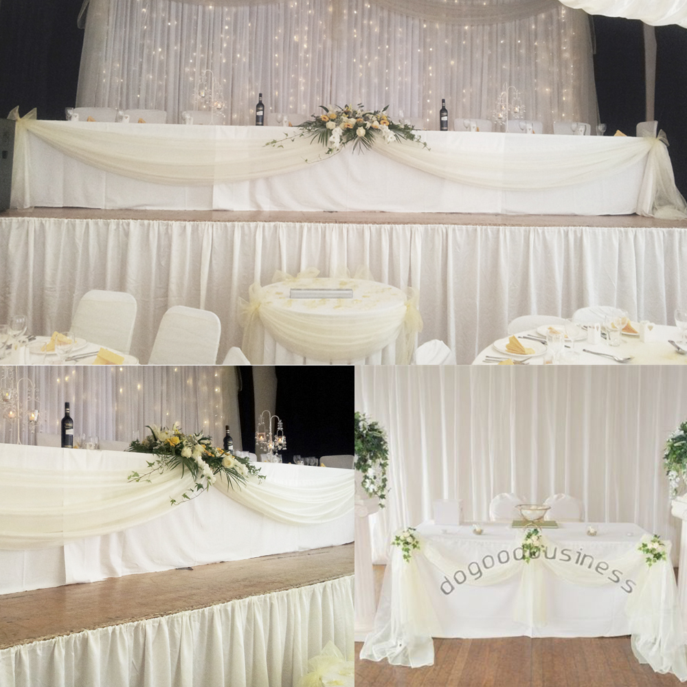 Fabric Wedding Backdrop Mini Bridal
