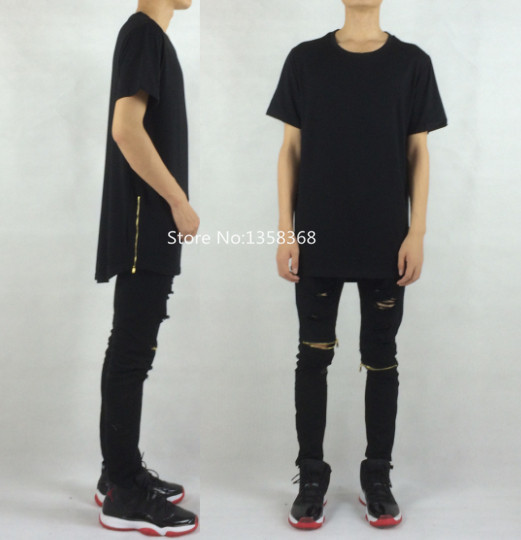 Designer Long T Shirts Custom Shirt