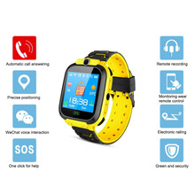 Fashion Kids Smart Watch with GPS GSM Touch Screen SOS Children Smartwatch for Android iOS Phone Alarm Clocks Gift zgpax pg88 gsm watch phone w 1 44 lcd screen quad band gps positioning and sos black silver
