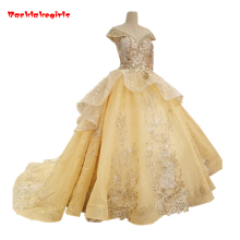 Backlakegirls Vintage Ball Gowns Wedding Dress Elegant