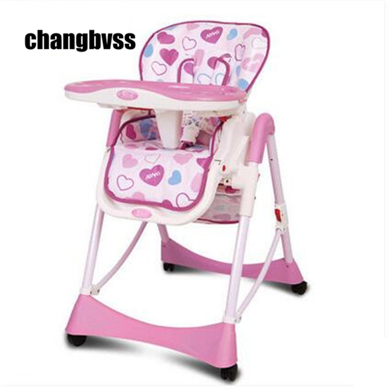 Baby Eating Chair Adjustable Baby High Chair Feeding,Child Portable Dining Chair Booster Seat Folding стоимость