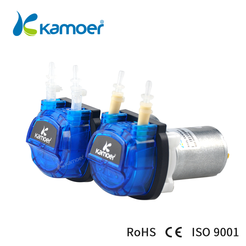 Kamoer KHS High-precision Cost-effective DC motor Peristaltic Pump used for garden watering and sweeping robots велосипед khs town