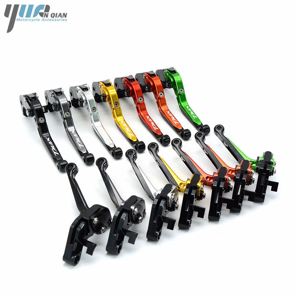Motorcycle CNC Adjustable Brake Clutch Levers For Yamaha T-MAX T MAX TMAX 530 500 2008 2009 2010 2011 2012 2013 2014 2015 2016