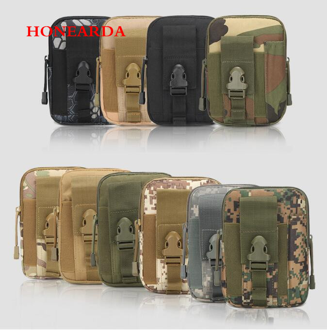 200pcs Men Military Waterproof Waist Pack Purse Mini Bag Hot Lady Pouch
