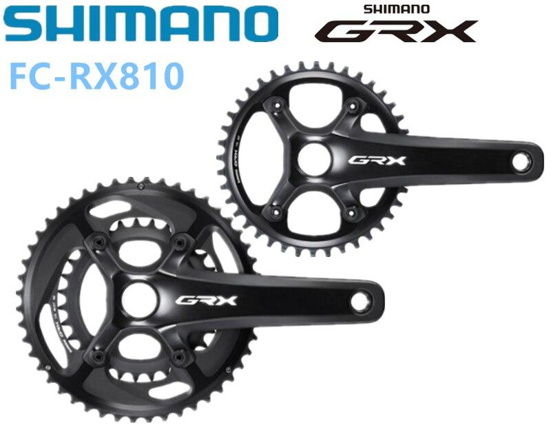 NEW SHIMANO GRX FC RX810 HOLLOWTECH II CRANKSET Crankset 2x11 Speed 1X11 Speed 40T 42T 48