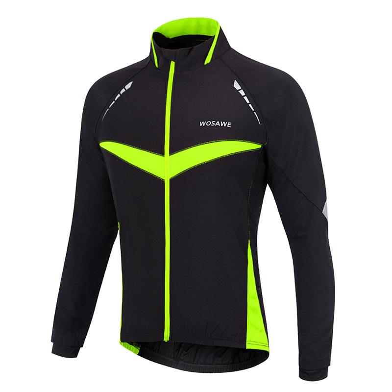 WOSAWE Cycling Jacket Winter Spring Thermal Bicycle Clothing Windproof Waterproof Jacket MTB Mountain Bike JacketsWOSAWE Cycling Jacket Winter Spring Thermal Bicycle Clothing Windproof Waterproof Jacket MTB Mountain Bike Jackets