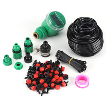 Garden-Hose-Kits Drip-Irrigation-System Self-Automatic-Watering-Timer Plant with Adjustable