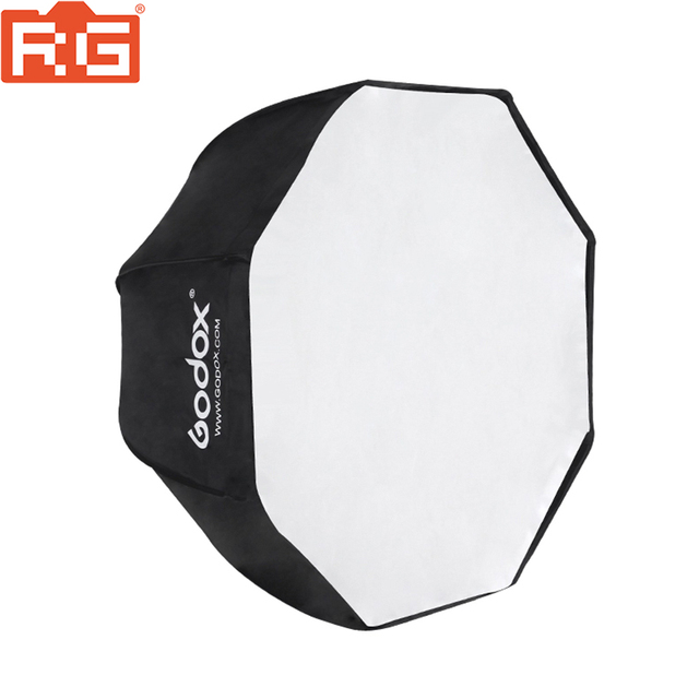 Godox צילום סטודיו 95cm 37.5in נייד אוקטגון פלאש מבזק Speedlite מטריית Softbox רך תיבת Brolly רפלקטור