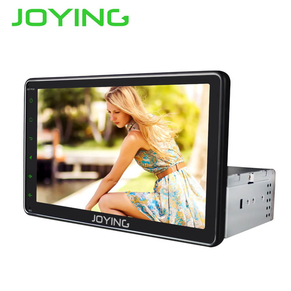 Joying 8'' Android Car Radio Stereo Single 1 Din Universal Head Unit GPS Navigation No DVD Player Support Subwoofer DVR Camera