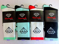 Retail cotton fashion men 4 colors diamond supply CO thicken bottom hiphop men Walking Socks 2pair/lot