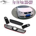 Acessórios Do Carro POLO malha do amortecedor dianteiro grade da grade Para VW Polo 2005-2009