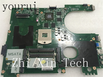 yourui High quality For Dell Inspiron 17R 7720 Laptop Motherboard 72P0M 072P0M CN-072P0M DA0R09MB6H3 Tested Work OK