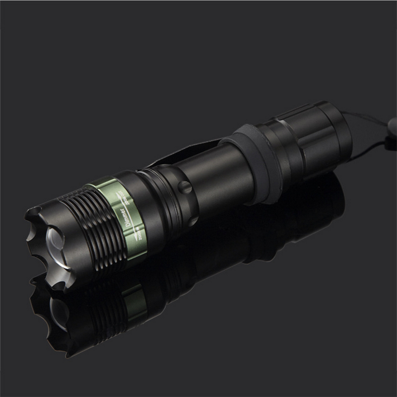 High Quality XML Cree T6 LED Flashlight Waterproof Aluminium Alloy Portable Flashlight For Bycycle With aaa And 18650 Battery