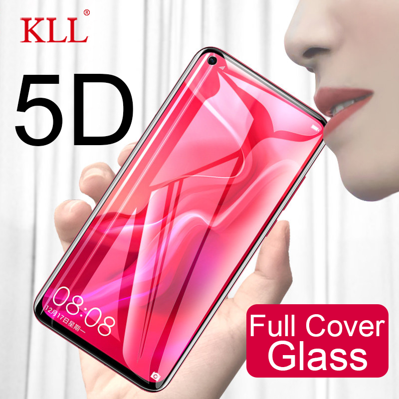 5D Glass For Huawei Nova 4 3 3i 3e Full Cover Tempered Glass For Huawei P20 Lite Pro Screen Protector For P Smart Y9 Y6 Y7 Prime