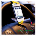 Car steering wheel vent mount stand holder Mobile Phone Holders For iPhone iPod MP4 GPS car phone holder phone cases car covers