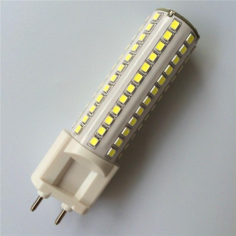 2018 Новинка! <font><b>G12</b></font> SMD2835 108LED 144led 10 Вт 15 Вт AC85V-265V светодиодные лампы лампада Bombillas лампа кукурузы огни ультра яркие 2 шт./лот