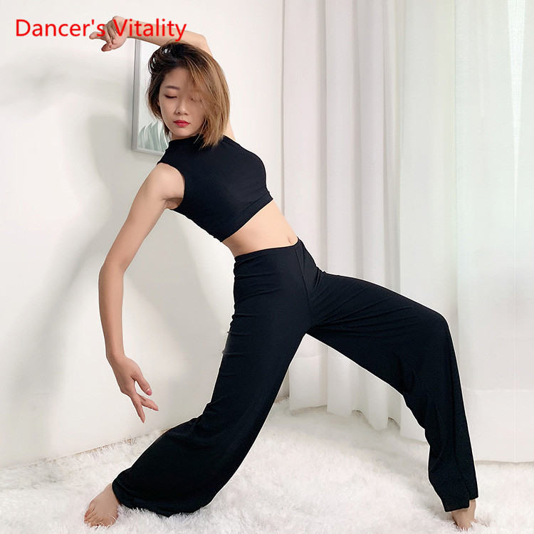Oriental dance Pants top 2pcs Belly Dance Set Belly Dance Costume Cultures Tops for Indian Women