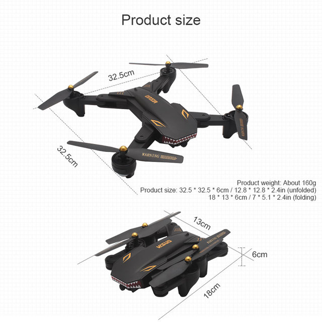 VISUO XS809S Foldable Selfie Drone with Wide Angle 2MP HD Camera WiFi FPV XS809HW Upgraded RC Quadcopter Helicopter Mini Dron-in RC Helicopters from Toys & Hobbies on Aliexpress.com | Alibaba Group