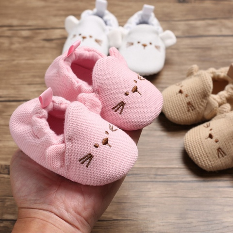 New Baby Shoes First Walkers Infant Baby Girls Boys Pram Crib Shoes Soft Sole Newborn Baby Sneakers Prewalker Lahore