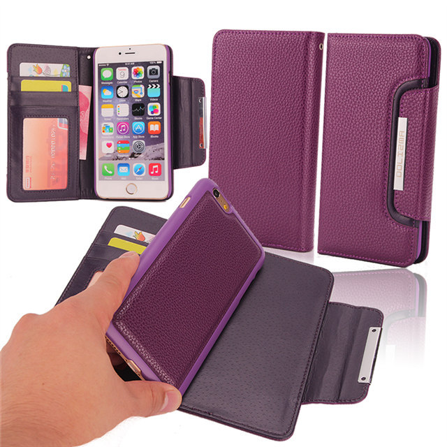 detachable cover magnetic iphone 6 case