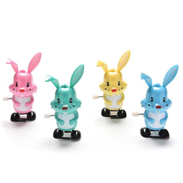 Заводная игрушка кролик дизайн с часовым механизмом игрушка новорожденный ребенок для детей заводная игрушка