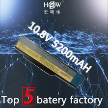 5200MAH 6cells new  Laptop Battery For Lenovo 3000 G400 14001 2048 59011 G410 BAHL00L6S 121SS080C bateria akku