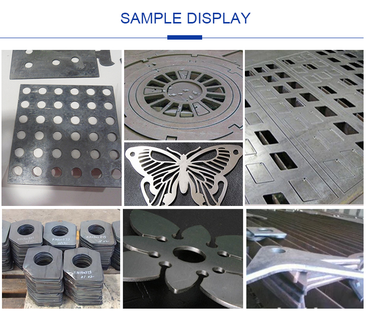 Automatic Gantry Milling Drilling CNC Plasma Cutting Cutter Machine for Sheet Metal Stainless Steel 5