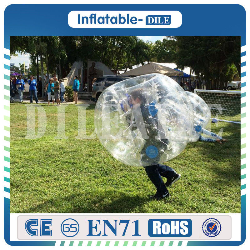 Giant 1.7m Inflatable Soccer Bubble Ball Human Bubble Inflatable Body Bumper Footballs For Adult