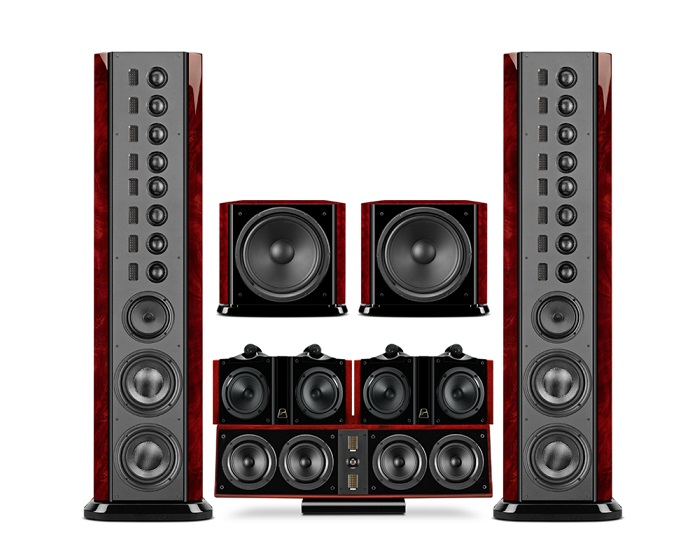 Swans 2.8AHT flagship home theater 5.2 system surround home theater system low distortion big dynamic home theater