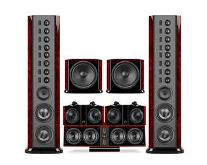 Swans 2.8AHT flagship home theater 5.2 system surround home theater system low distortion