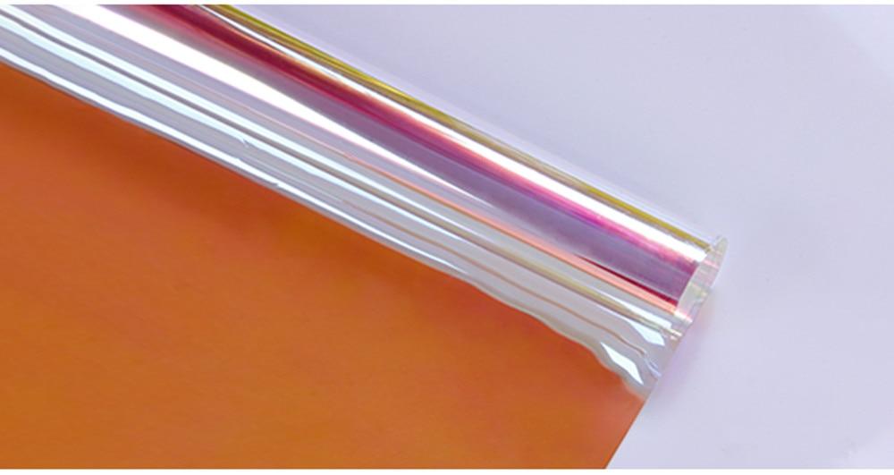1.37 m x 3 m Fenêtre Teinte Films Auto-Adhésif Fenêtre bande de décoration En Verre film autocollant pour La Maison du Parti Center Commercial Décoration bricolage De Noël