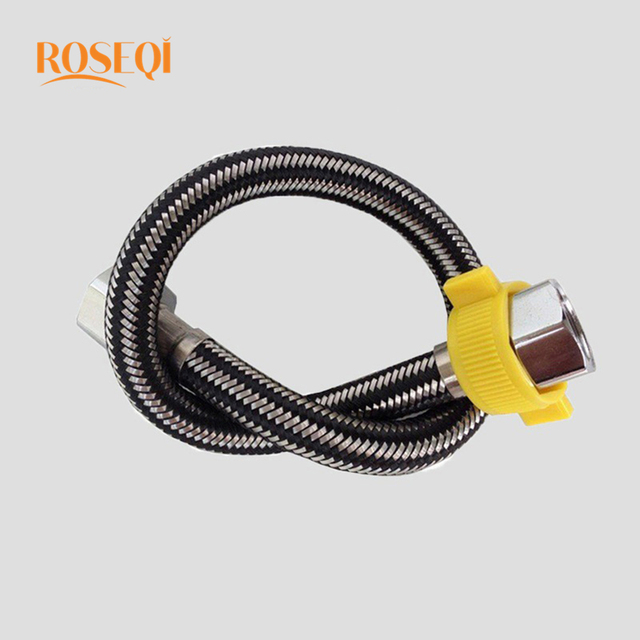 1 Pc Length Flexible Faucet ided Hose Taps Line Pipe Stainless ... Bathroom Tap Hose Connector on tap wrench, tap socket, tap clamp connector, tap adapter,