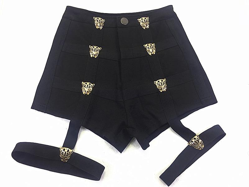 Rosa preto Shorts Sexy Dance Party Club Curto Calças Kpop Estrela Kim Hyun A Lisa Mesmo Estilo Curto Feminino Mulheres De Cintura Alta calções