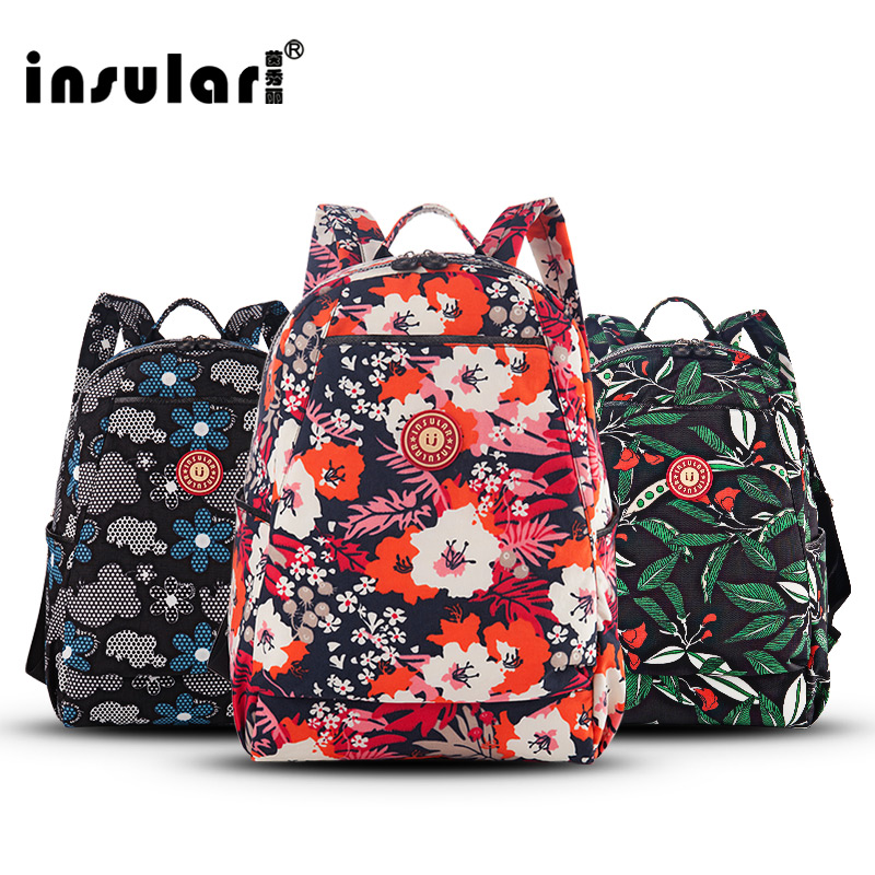 Multi-functional waterproof shoulder multi-functional large-capacity mommy package mother and child out of backpack nappy bag