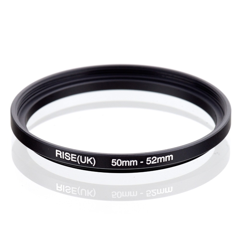 52mm to 50mm Stepping Step Down Filter Ring Adapter 52mm-50mm