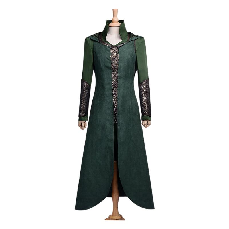 Tauriel Cosplay Costume Silvan Fairy Cosplay Full Set Guardians of Mirkwood Women Cosplay Battle Suit