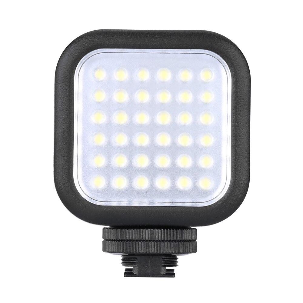 Original Godox LED36 LED Video Light 36 LED Lights Lamp Photographic Lighting 5500 6500K for DSLR