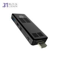 Мини Пк Небольшой Четырехъядерных Процессоров Atom Intel Z8300 Windows 10 Wi Fi Usb Bluetooth TV BOX Вентилятор Охлаждения Вычислить Палку Офисный Компьютер Мини