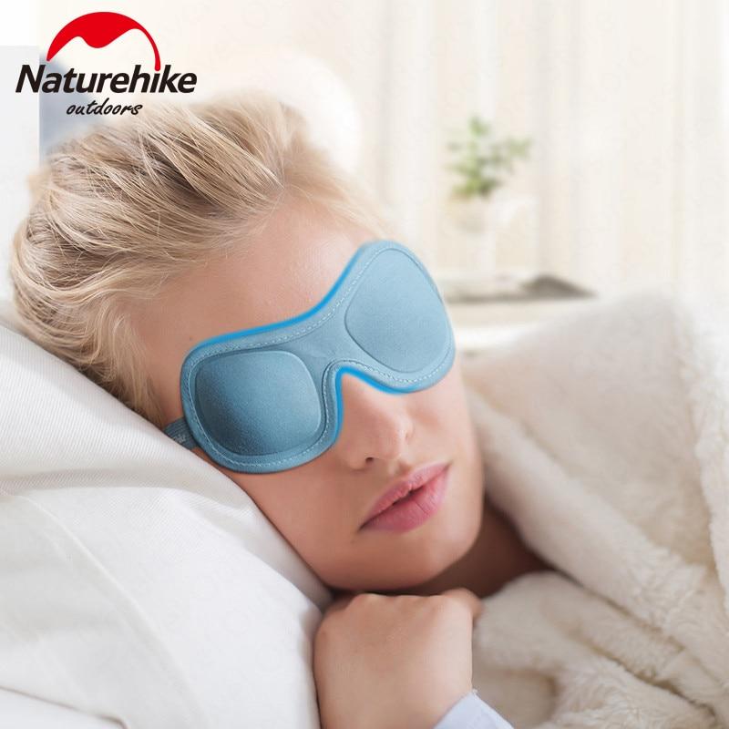 Naturehike Outdoor Travel Articles EyeShade 3D Stereo EyeShade Breathable Travel Eye Mask Portable Sleep Eye Mask For Break Time