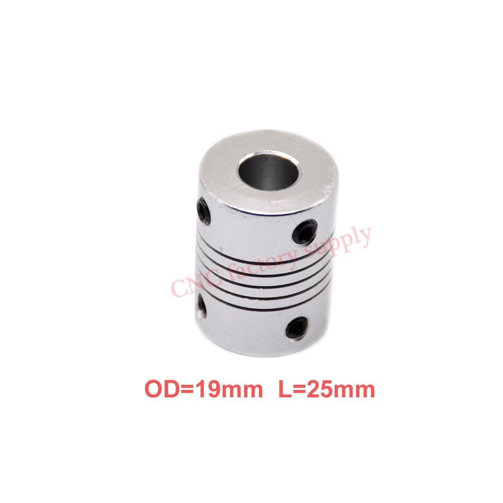 1pcs-5x8mm-cnc-motor-jaw-shaft-coupler-5mm-to-8mm-flexible-coupling-od-19x25mm-wholesale-dropshipping-3-4-5-6-635-7-8-10mm
