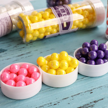 Cake Decorating Supplies for Bakers Cookie Cupcake Bright Metallic Sphere Sprinkles Decoration Decorative Sugar Ball bakers ez way dragees silver sugar cake cupcake cookie sprinkles 2mm