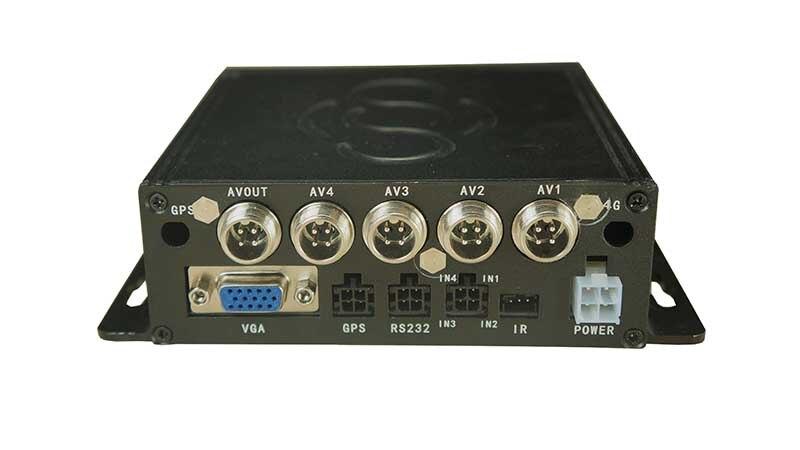 4 канальный автомобильный видеорегистратор 4ch MDVR мобильный видеорегистратор Автомобильный видеорегистратор Автомобильная камера безопас...