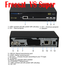 Freesat V8 Super box TV receiver Free sat V8 HD 1080P spain hot selling satellite receiver