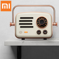 NEW Xiaomi Smart radio Retro futurism Network FM station HIFI level charge Bluetooth AUX speakers Wifi Internet Portable Radio