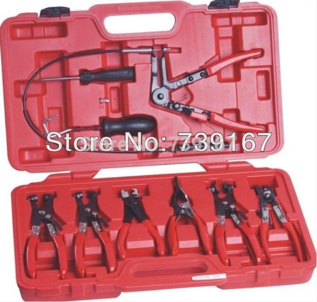 9PCS Automotive Flexible Hose Clamp Pliers ST0029